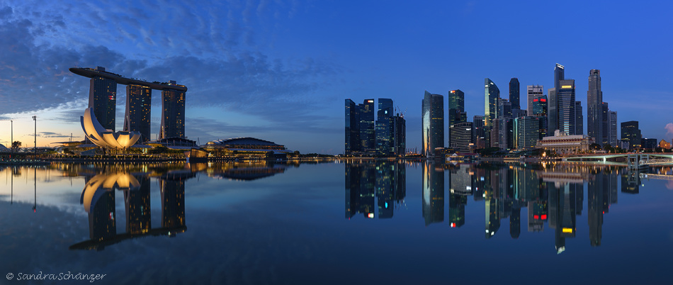 Marina Bay Sands & Business District