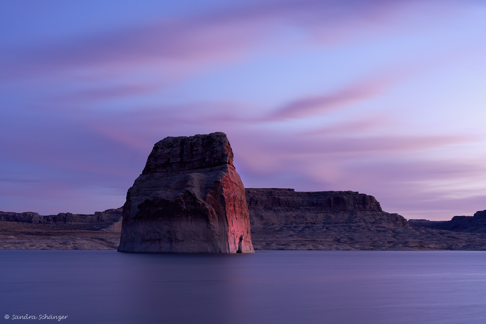 Lone Rock Lake Powell Page Arizona
