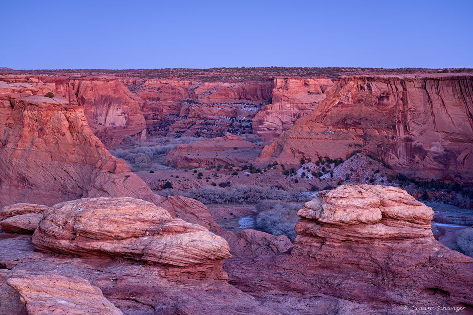 Canyon de Chelly – Tsegi Overlook Blue Hour