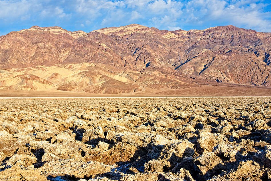 Devil′s Golf Course – Death Valley
